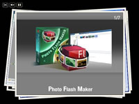 Photo Stack flash template