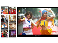 Web Album Simple flash template