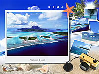 Beach Premium flash template