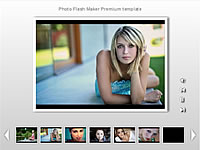 Thumbnail Bottom 1 Row Premium flash template