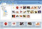 Main window of Photo Slideshow Maker Pro